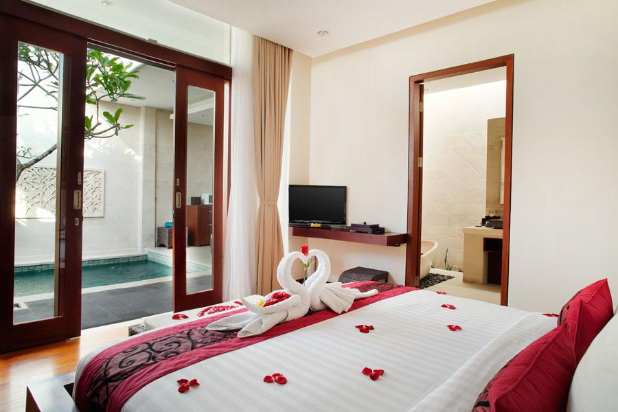 Bali Daluman Villa - Honeymoon Bedroom