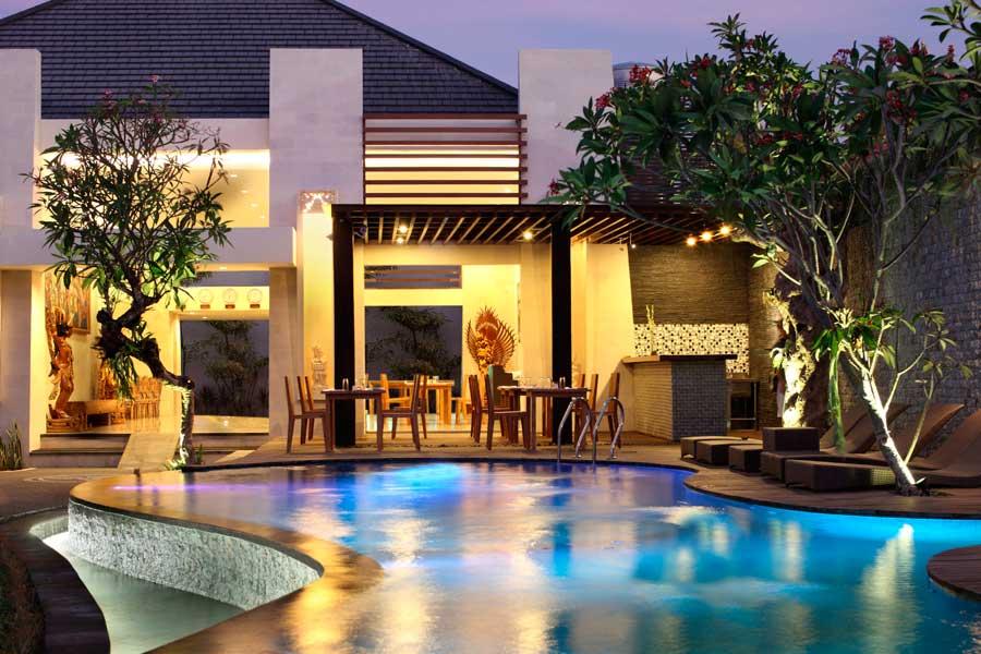 Bali Daluman Villa - Lobby Main Pool